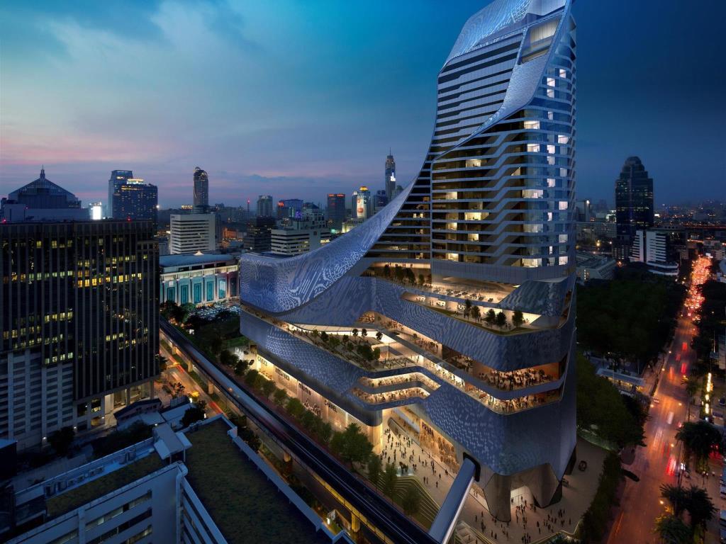 Cha ne dinner at park hyatt bangkok cha ne des r tisseurs for Chaine hotel