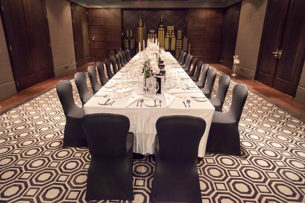 Chaine Dinner At The JW Marriott Hotel Bangkok Manhattan Bar On 27