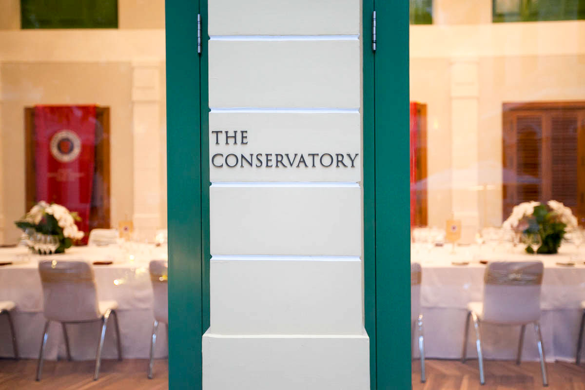 Chaine Dinner At The Conservatory House On Sathorn 22